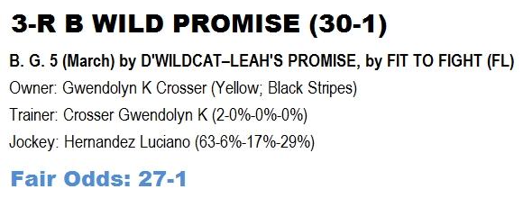 R B Wild Promise