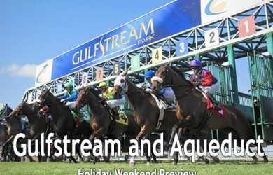 Gulfstream Park and Aqueduct