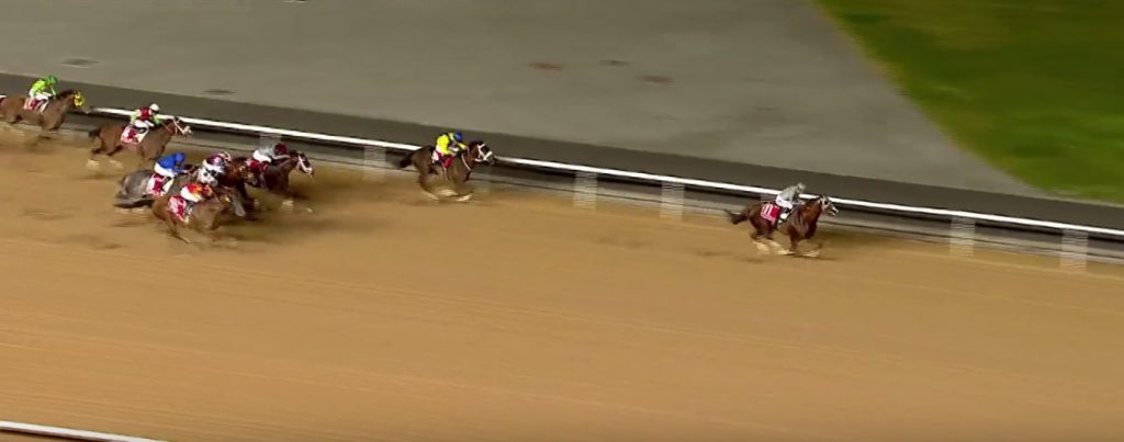 California Chrome forges to the front.
