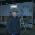 Trainer Art Sherman supervises California Chrome's  departure to Dubai earlier this year.