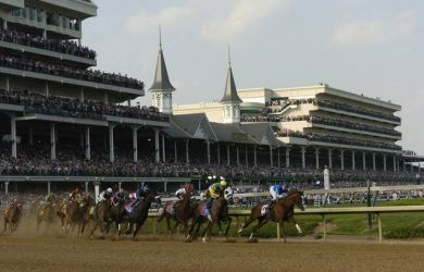 Churchill Downs (photo via www.kentucky.com).