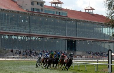 Fair Grounds Racecourse (photo via www.myneworleans.com).