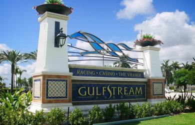 Gulfstream Park (photo via www.creoindustrialarts.com)