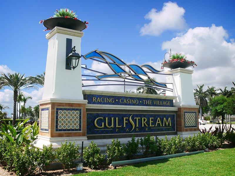 Gulfstream Park (photo via www.creoindustrialarts.com)