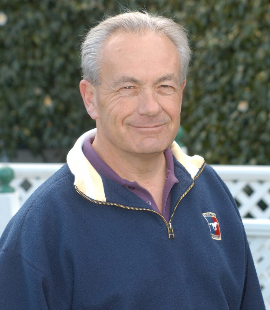 Trainer Jerry Hollendorfer will send out Songbird in the Grade III Santa Ysabel Stakes at Santa Anita on Saturday (photo via www.goldengatefields.com)