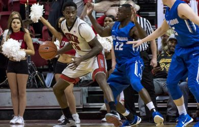 UNLV will face Air Force Wednesday night (photo via www.mwcconnection.com)