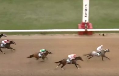 Arkansas Derby Finish