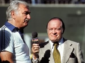 Eugene Klein (left) with Bob Hope