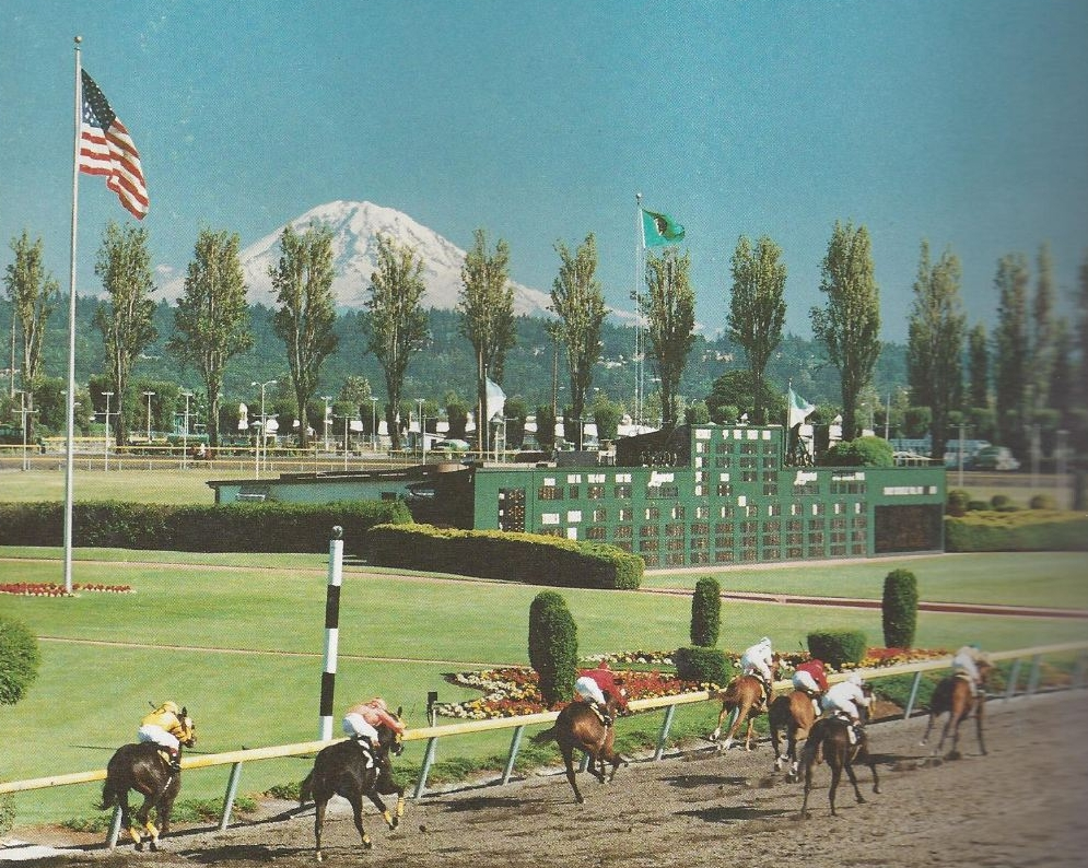 Longacres Racetrack (photo via the Seattle Times)