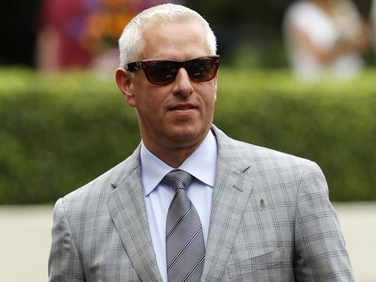 Todd Pletcher sent out Outwork to win the Wood Memorial on Saturday.