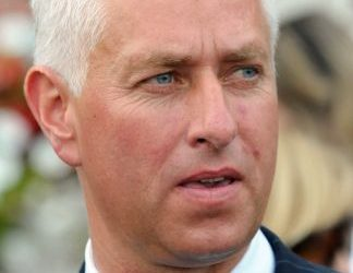 Trainer Todd Pletcher sends out the undefeated Off the Tracks in Saturday's Gulfstream Park Oaks.