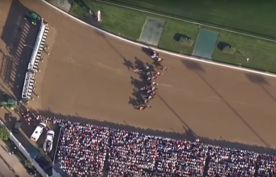 142 Kentucky Derby Overhead 2
