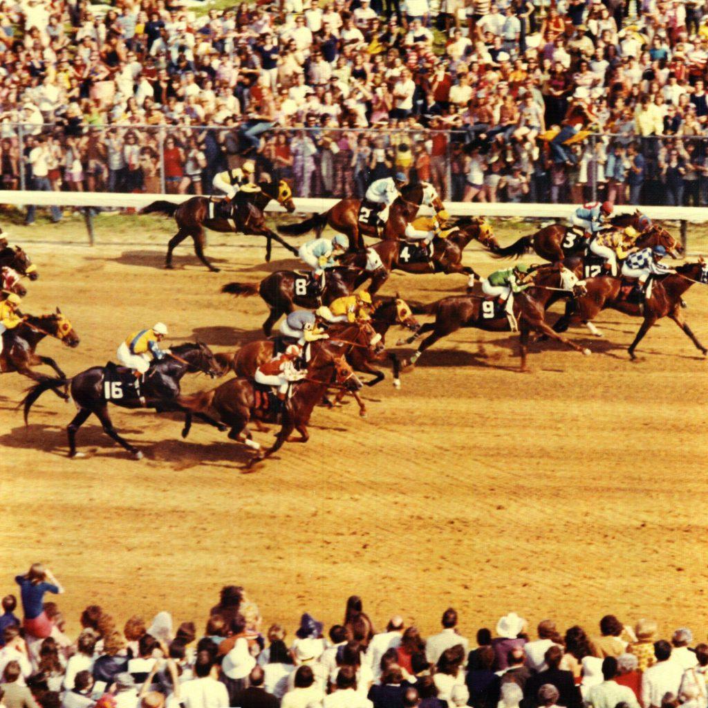 1972 Derby Start