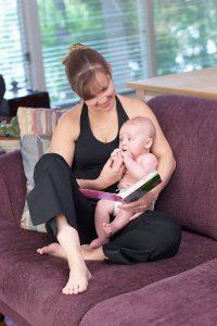 Mom Reading Story