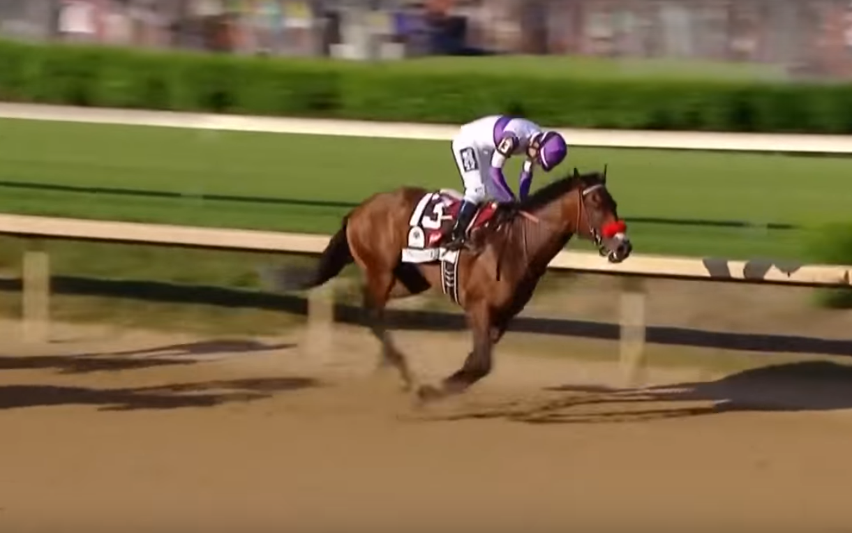 Nyquist stayed undefeated in winning the 2016 Kentucky Derby.