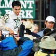 Irad Ortiz Jr. was ecstatic after winning the 2016 Belmont Stakes for Hall of Fame trainer Steve Asmussen.