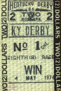 Win Ticket 1974