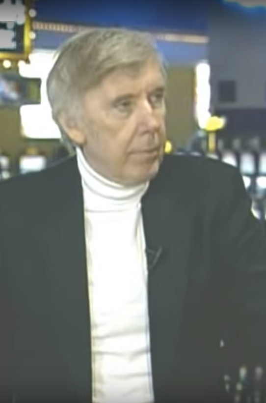 "John Patrick, host of ""So You Wanna Be a Gambler"""