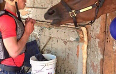 Jock Irad Ortiz Jr. and Lady Eli are scheduled to reunite on the racetrack on Aug. 27.