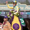 ARCADIA, CA - NOVEMBER 05: Classic Empire #5, ridden by Julien Leparoux, wins the Sentient Jet Breeders' Cup Juvenile during day two of the 2016 Breeders' Cup World Championships at Santa Anita Park on November 5, 2016 in Arcadia, California. (Photo by Zoe Metz/Eclipse Sportswire/Breeders Cup)