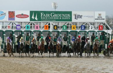 Saturday's Fair Grounds card featured four graded stakes, including the Risen Star Stakes (GII) for three-year-olds.