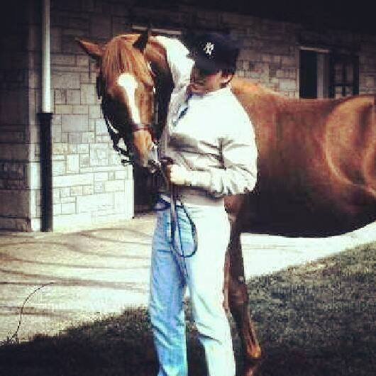 Affirmed with Wes Lanter (photo courtesy of Wes Lanter).