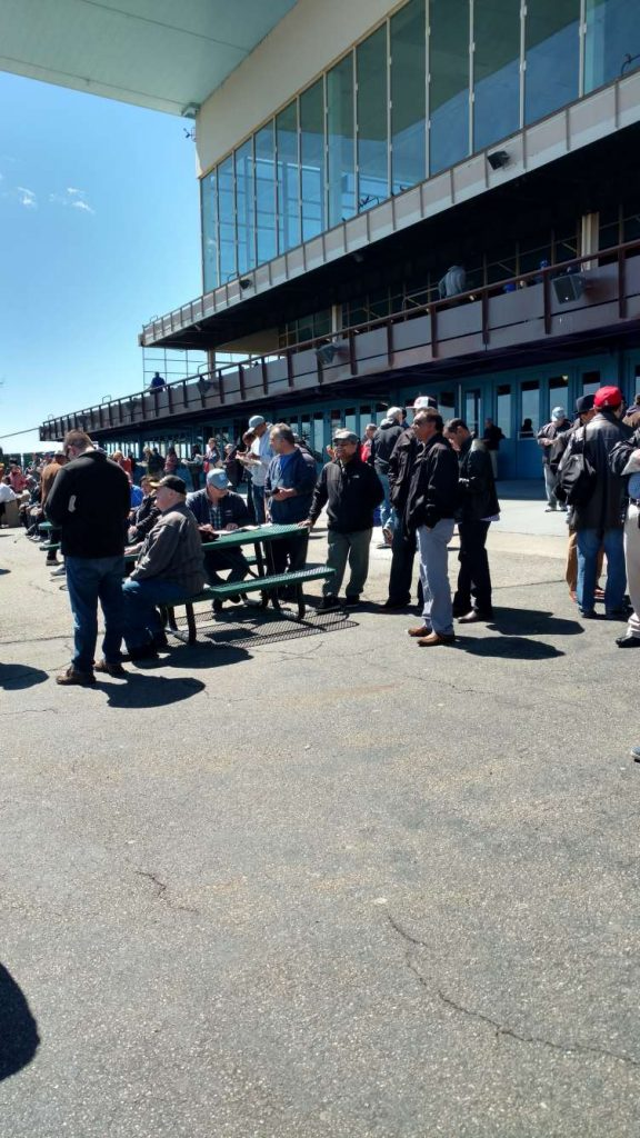 The crowd at Aqueduct Racecourse witnessed Irish War Cry renew his Kentucky Derby hopes with a 3 1/2-length score in the Wood Memorial.