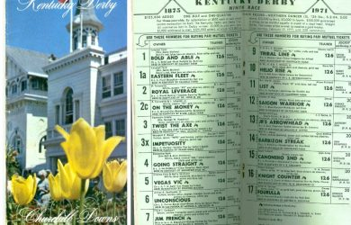 1971 Kentucky Derby program (photo via m)
