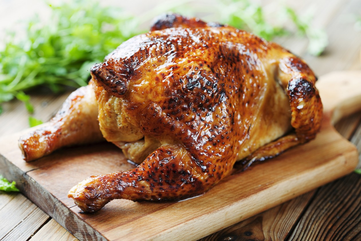 Chicken from the Red Rooster (photo via bandt.com.au).