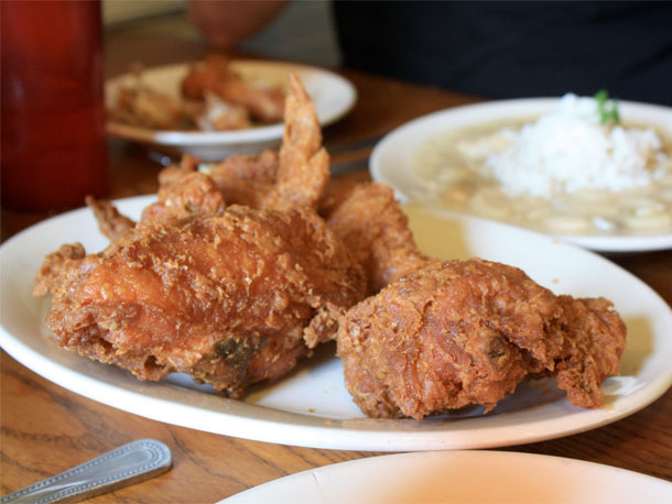 Willie Maes chicken (photo via seriouseats.com).
