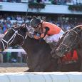 Girvin rallied from last-place to win the $1 million Haskell Invitational (photo via Monmouth Park).