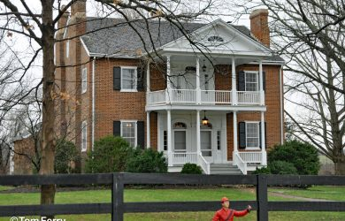 001 - The Main House at Hermitage was built in 1835