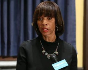 Catherine Pugh, ex-mayor of Baltimore (photo via Youtube).