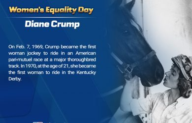 Wome's Equality Day - Diane Crump