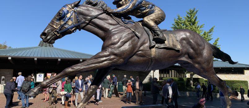 Secretariat Sculpture