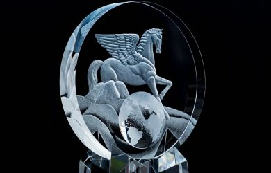 Pegasus World Cup Trophy - Photo courtesy of Robin Buchanan