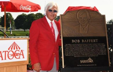 Bob Baffert - Photo courtesy of Coglianese /NYRA Photo.
