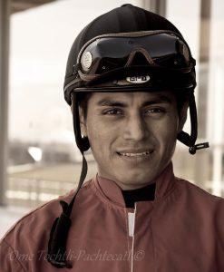 Jockey Abel Cedillo - Photo Courtesy of Ome Tochtli