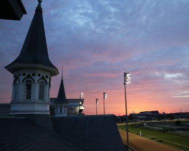 Sunrise at Churchill Downs