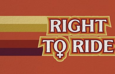 Women Right to Ride Poster