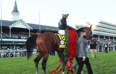 AUTHENTIC - The Kentucky Derby - 146th Running - 09-05-20 - R14 - CD - Under Spires 01