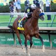 Authentic Winning The Kentucky Derby - Courtesy of Churchill Downs/Coady Photography.